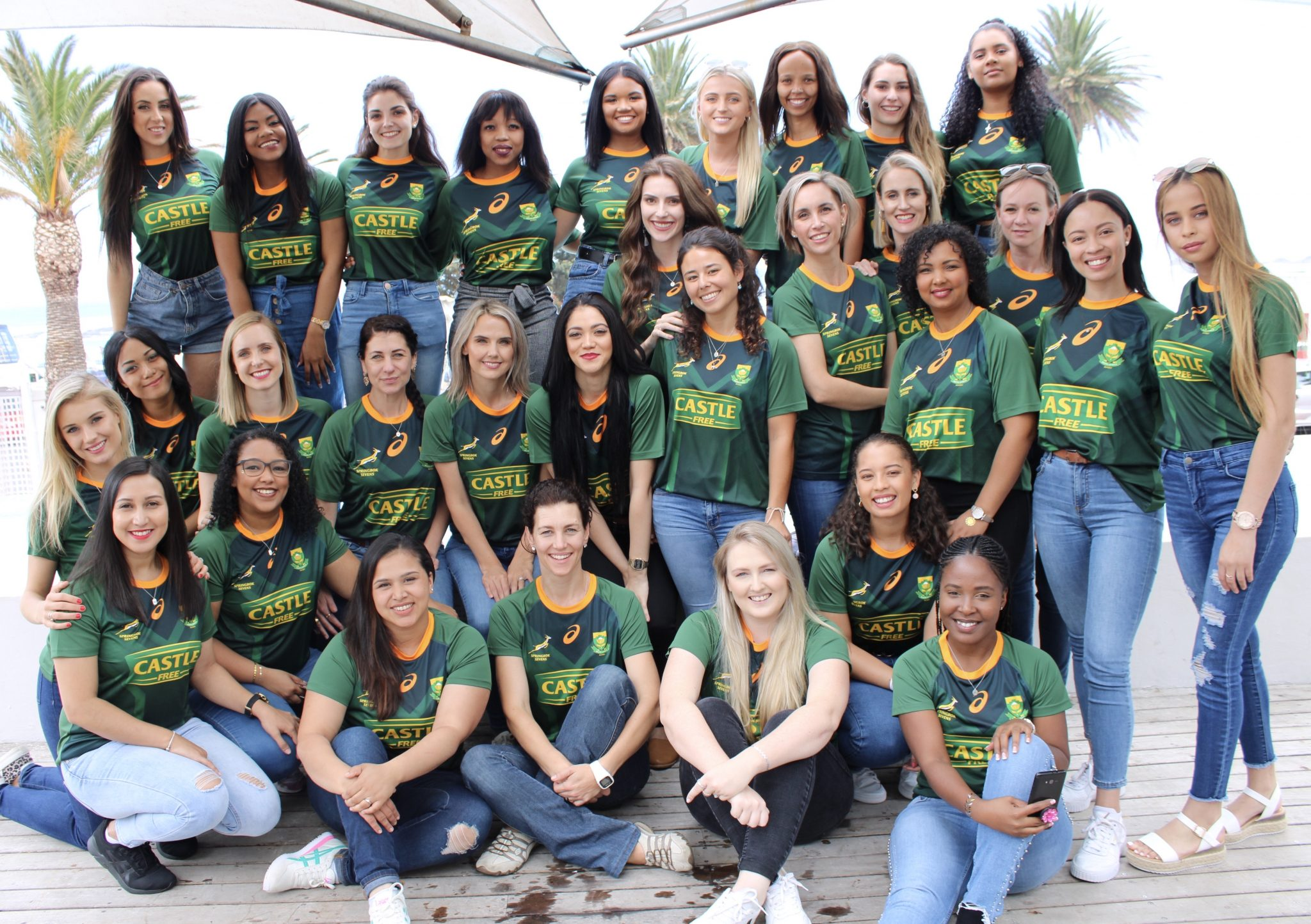 Celebrating the girlfriends and wives of the blitzboks